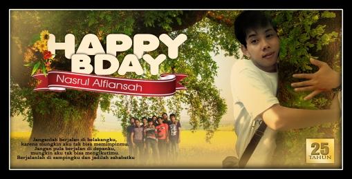 Ulang Tahun Nanaz Nazrul (Moh. Nasrul Alfiansah)
